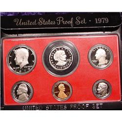 1979 S U.S. Proof Set. Nice Frosty Coins