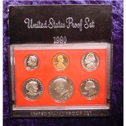 1980 S U.S. Proof Set. Nice Frosty Coins