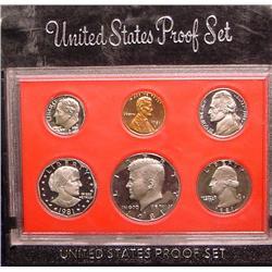 1981 S U.S. Proof Set. Nice Frosty Coins