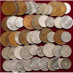 (50) Old Japanese or Chinese Coins.