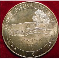 1975 Bridges of Madison County Medal
