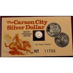 1878 CC Miniature Carson City Nevada