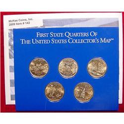 1999 24K Gold-plated State Quarter Set