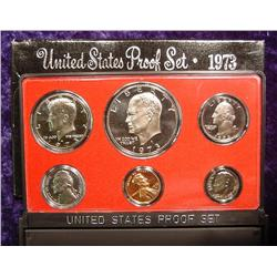 1973 S U.S. Proof Set. Original as issued.