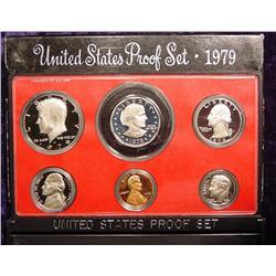 1979 S U.S. Proof Set. Original as issued.