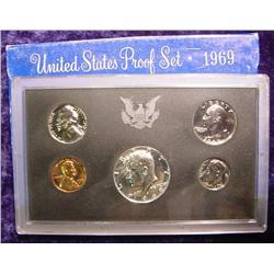 1969S U.S. Proof Set. Original as issued.
