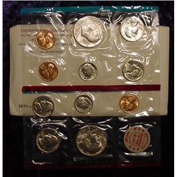 1971 U.S. Mint Set. Original as issued.