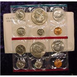 1978 U.S. Mint Set. Original as issued.