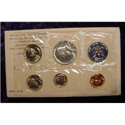1965 Special Mint Set. Original as issued.