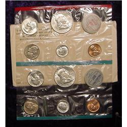 1963 U.S. Mint Set. Original as issued.