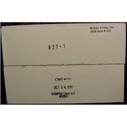 2001 P & D Kentucky U.S. Mint Two