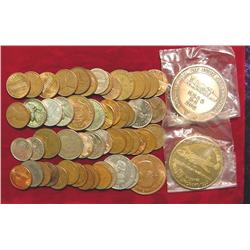 Accumulation of U.S. & Foreign Coins, Me