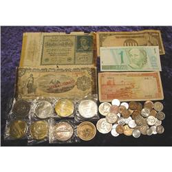 U.S. & Foreign Coins & Currency Silver, etc.