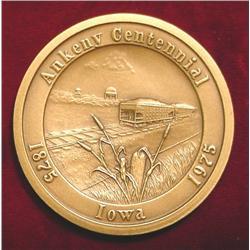 1875-1975 Ankeny Centennial Iowa 100