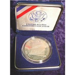 1787-1987 S Constitution U.S. Proof Silver