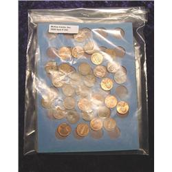 Old Whitman Coin Folder with (50) Lincoln