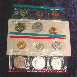 1969 U.S. Mint Set. Original as issued.