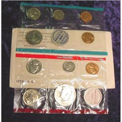 1970 U.S. Mint Set. Original as issued.