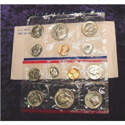 1981 U.S. Mint Set. Original as issued.
