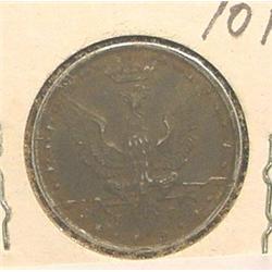 1917 Poland 10F. Y6. F-VF.