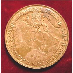 1937 Canada Royal Visit Medal. AU