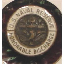 U.S. WW II Naval Reserve Button.