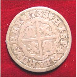 1773 Spain Silver 1-Real.