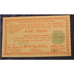 Series 1944 Philippines Peso Negros