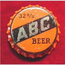 32% ABC Beer Cap. St. Louis, Mo.