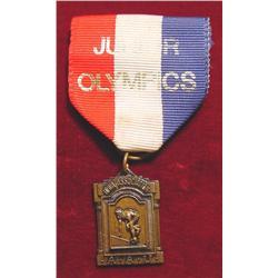 Bronze Track Medal Iowa Assn. Junior