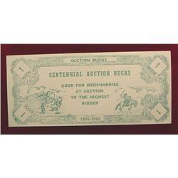 1855-1955 Centennial Bucks Clinton, Ia.