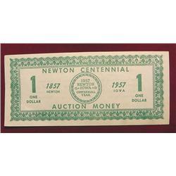 1857 1957 Newton Centennial Auction