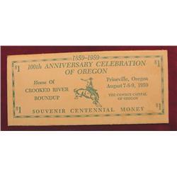 1859-1959 100th Anniv. Celebration of Ore
