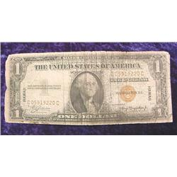 "Series 1935A $1 ""Hawaii"" Emergency Silver"