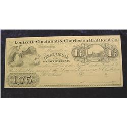 "Reprint ""Louisville Cincinnati & Charleston"