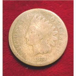 1873 Indian Head Cent. G-4.