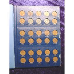 1941-75 Complete Set of Lincoln Cents.