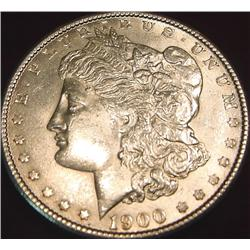 1900 P Morgan Silver Dollar. AU