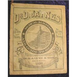 1898 Dr. D. Jayne's Medical Almanac