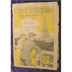 1916-1917 Doan's Directory of the U.S.