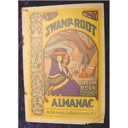 1939 Swamp-Root Dream Book Almanac
