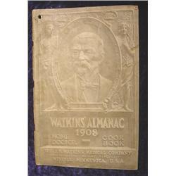 1908 Watkins' Almanac Home Doctor Cook