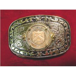 Made in the U.S.A. Belt Buckle with 1789