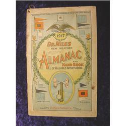 1917  Dr. Miles New Weather Almanac