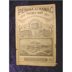 1914 Peruana Almanac. Cloumbus, Oh.