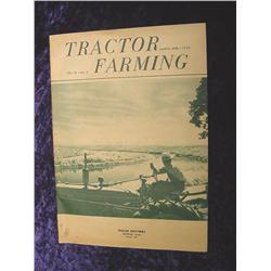 March-April 1952 Tractor Farming