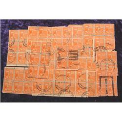 (86) John Quincy Adams .06c Stamps