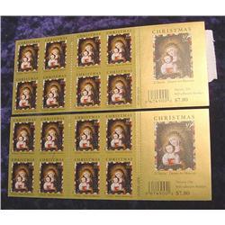 (2) Blocks of (12) .39c Christmas Stamps