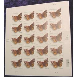 """Mint Sheet U.S. .24c Stamps """"Common"""