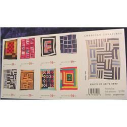 """Mint Sheet U.S. """"Quilts of Gee's Bend"""""""